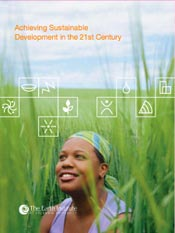 Earth Institute - Acheiving Sustainable Development in the 21st Century cover art